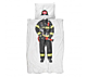 Snurk Firefighter dekbedovertrek-140x220 cm
