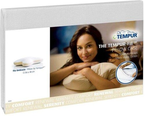 Tempur Standard Stretch kussensloop-Wit