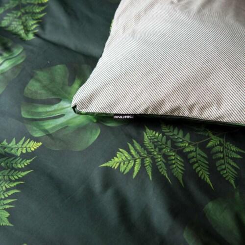 Snurk Green Forest dekbedovertrek-140x200/220 cm