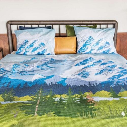 Snurk Across The Alps dekbedovertrek-140x200/220 cm