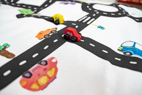 Snurk Clay Traffic dekbedovertrek-140x200/220 cm