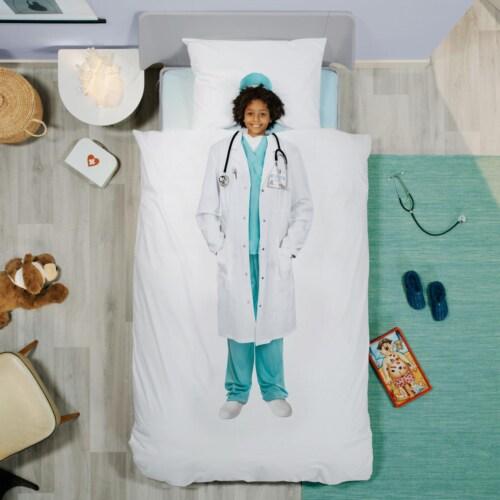 Snurk Doctor dekbedovertrek-200x200/220 cm