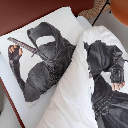 Snurk Ninja dekbedovertrek -140x200/220 cm