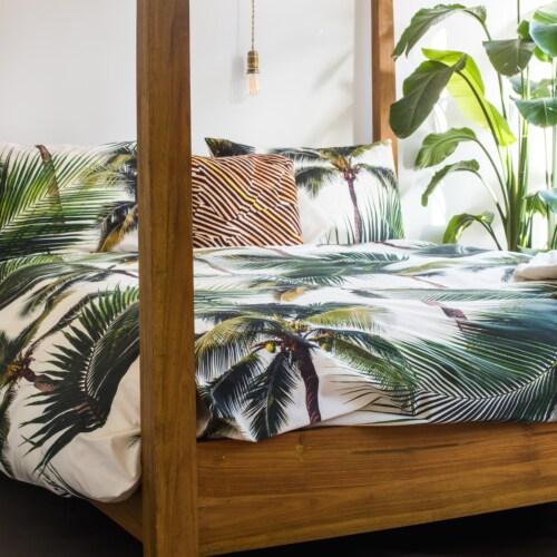 Snurk Palm Beach dekbedovertrek-260x200/220 cm