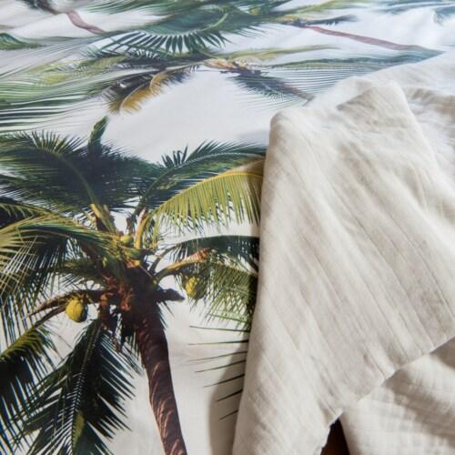Snurk Palm Beach dekbedovertrek-200x200/220 cm