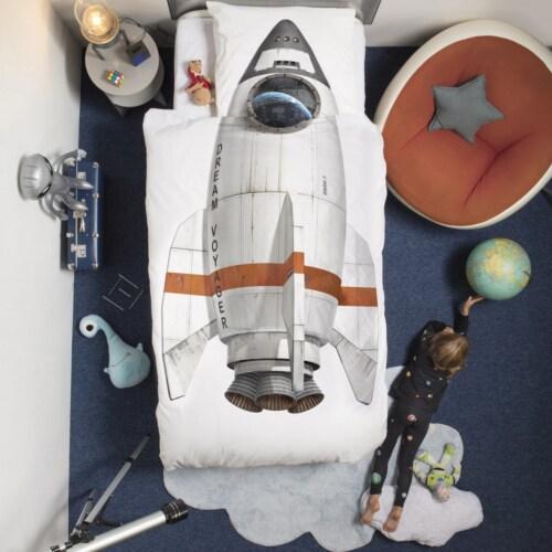 Snurk Rocket dekbedovertrek-140x200/220 cm