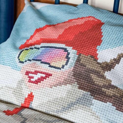 Snurk Ski Girl dekbedovertrek-140x200/220 cm