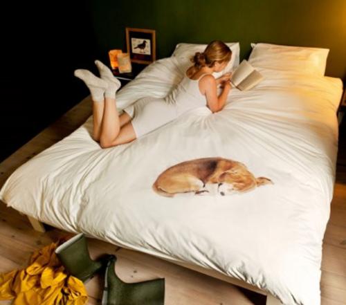 Snurk Bob dekbedovertrek-140x220 cm