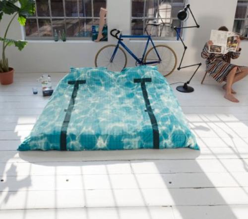 Snurk Pool dekbedovertrek-140x220 cm