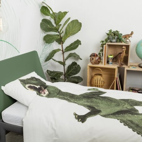Snurk Dinosaurus Rex dekbedovertrek-140x200/220 cm