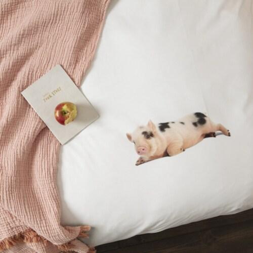 Snurk Miss Piggy overtrek-140x200/220 cm