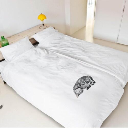 Snurk Ollie FLANEL dekbedovertrek-240x200/220 cm