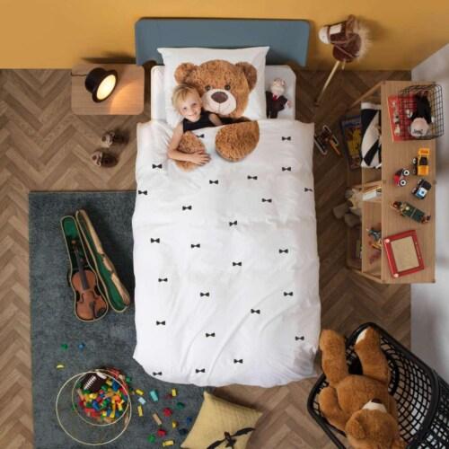 Snurk Teddy FLANEL dekbedovertrek-260x200/220 cm