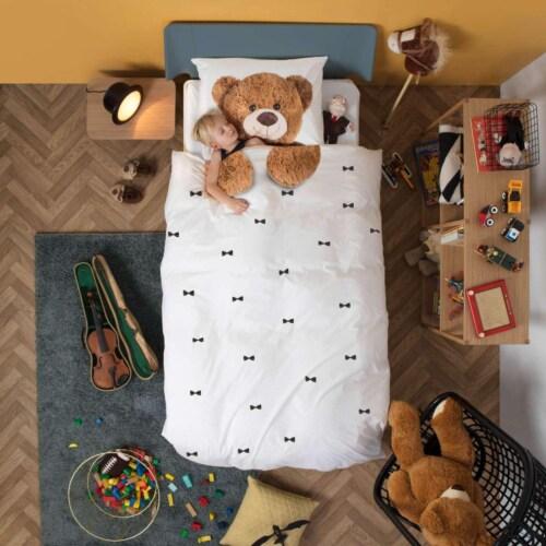 Snurk Teddy FLANEL dekbedovertrek-140x200/220 cm