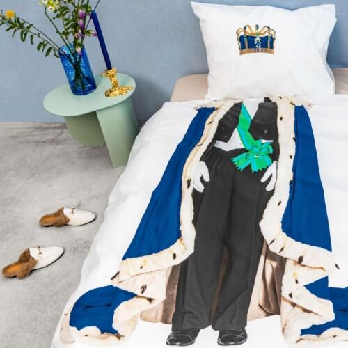 Snurk The Royals King & King dekbedovertrek-240x200/220 cm