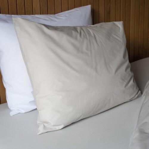 Snurk Uni Grey dekbedovertrek-140x200/220 cm