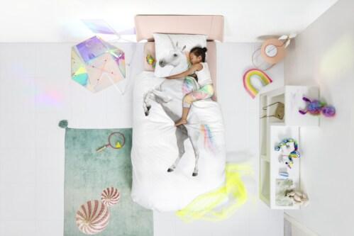 Snurk Unicorn dekbekovertrek-240x200/220 cm
